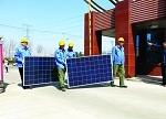 林洋公司年发电548.8万度光伏项目开工建设