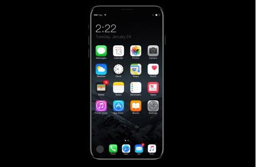 苹果搞不定嵌入式设计iPhone 8或放弃指纹传感器