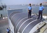印度海军军舰首次用上了太阳能,照明空调全靠它