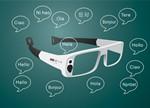 上交大女生设计自动识词眼镜