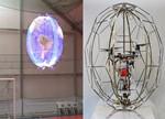 世界上第一款球形照明无人机问世