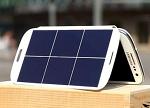 世界第一款太阳能手机电池问世 充电效率翻倍