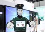 迪拜第一位机器人警察现身街头 会用六种语言