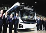 现代发布首款电动巴士 续航290公里
