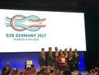 晶科能源代表中国企业在B20德国柏林峰会发言