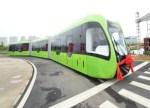 中车发布全球首列虚拟轨道电车
