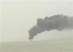 江苏海上风电平台起火 19名工人跳海逃命