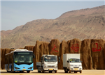 耗时70天!比亚迪K8吐鲁番高温性能测试与路试