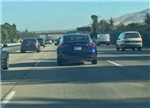 特斯拉Model 3上路照曝光