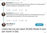 关于量产版特斯拉Model 3 马斯克是这样回答的!