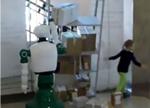 真神,俄机器人出手救女童