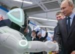 俄机器人逃跑走红 未来机器人自己发电造娃?