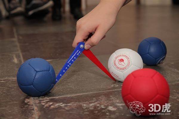 Handi Life Sport使用3D打印技术为残疾人运动员制作硬地滚球