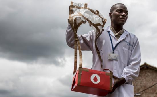 Zipline血液配送无人机服务在非洲取得阶段性成果