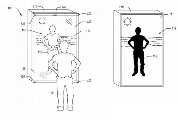 亚马逊专利镜子可以让用户穿着虚拟服装