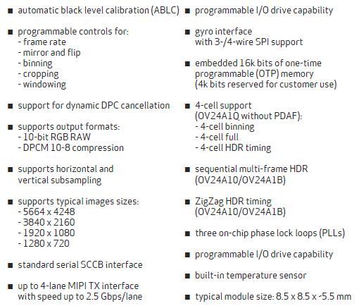 豪威科技推出首款0.9um像素图像传感器系列产品