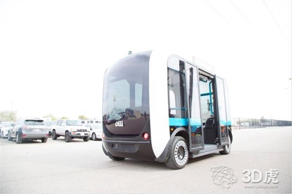 Local Motors为3D打印Olli班车筹集超过10亿美元的资金