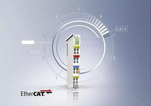 倍福EtherCAT I/O系统中集成过电流保护功能