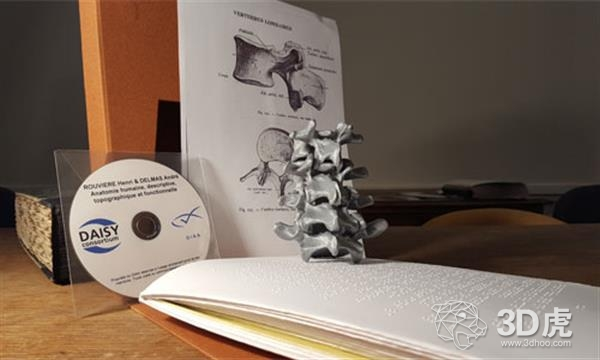 法国GIAA推出3D打印解剖模型库,以帮助失明学生学习按摩和理疗