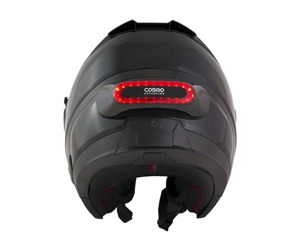 自行车爱好者的福音:能救命的自行车头盔专用灯
