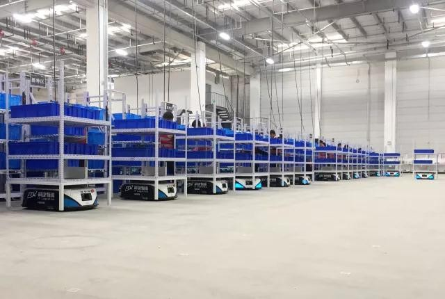 新时代物流产业离不开的机器人 AGV成了业界焦点