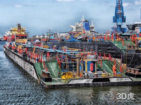 荷兰CEAD为造船业开发巨大的CFAM复合3D打印机