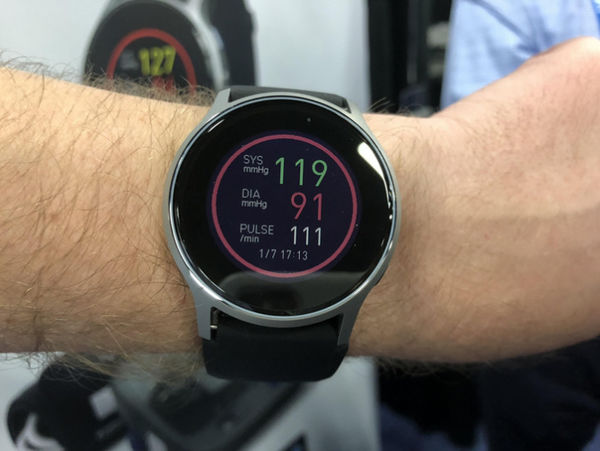 CES  2018:欧姆龙推智能手表HeartGuide