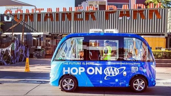 科技巨头秀技!CES 2018成自动驾驶展览大会