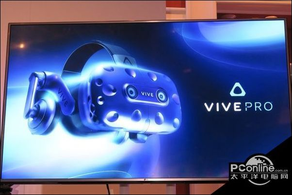 CES展HTC公布升级版VR眼镜VivePro
