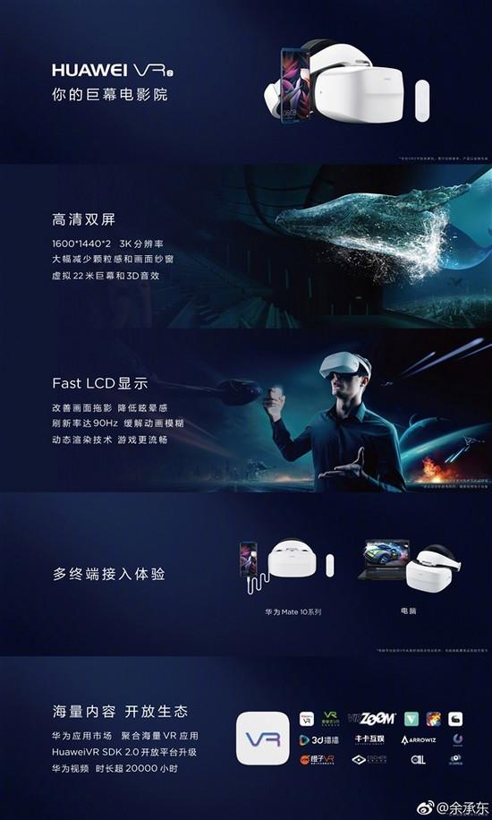 不出门看IMAX电影!华为VR2中国上市日期确认