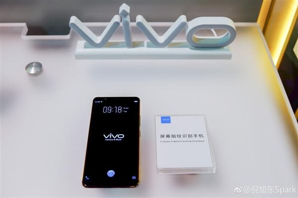 全面屏完美了!一张图看懂vivo屏幕指纹:未来手机标配