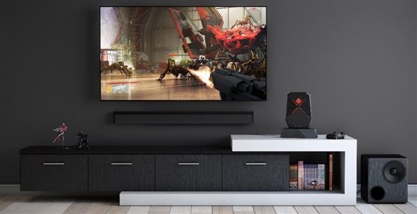 惠普暗影精灵X游戏显示屏亮相:65英寸/120Hz刷新率