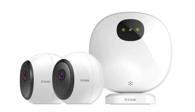 D-Link推全新LTE/Wi-Fi 可充电家庭智能摄像头