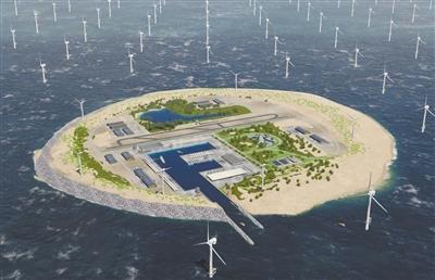 """""""北海风电岛"""" 为欧洲五国供电"""