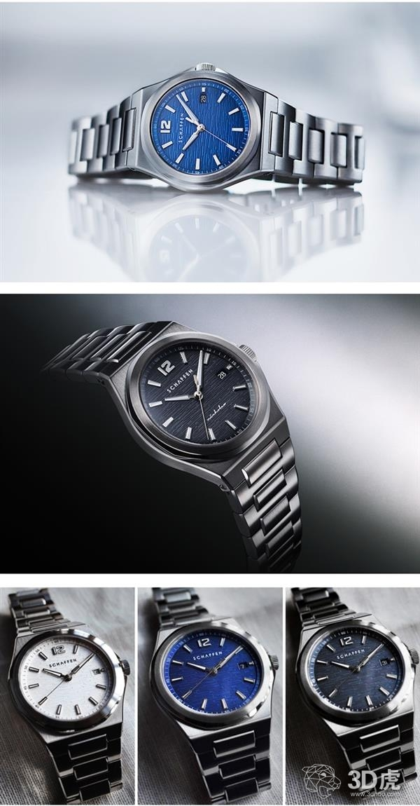 Schaffen Watches推出新款腕表,配备定制3D打印转子!