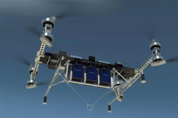 波音公司迈出里程碑的一步:新型无人机可载重500磅