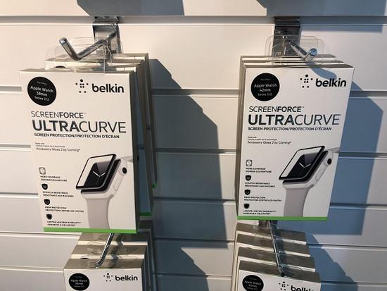 贝尔金推出Screenforce Ultra Curve 升级版Apple Watch保护膜