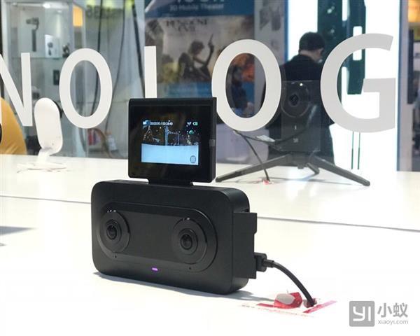 网红VR直播利器:小蚁180°3D VR相机发布