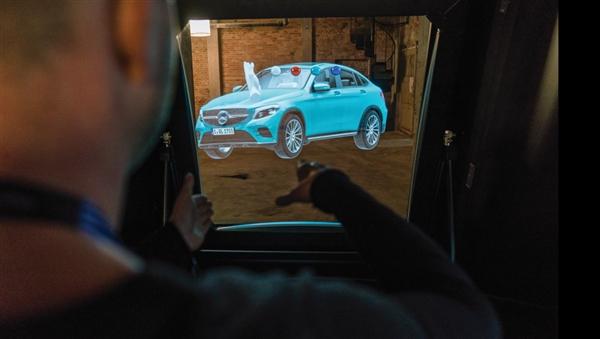 65寸屏+4K输出 丹麦公司推出MR显示器:酷似全息投影