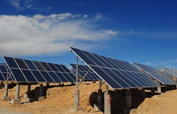 中国能建投建东北地区最大光伏电站并网发电
