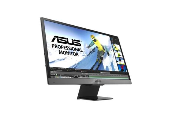 华硕在CES上展示便携式OLED显示器:21.6寸4K屏