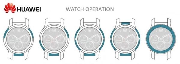华为智能手表专利曝光:支持边框触控技术