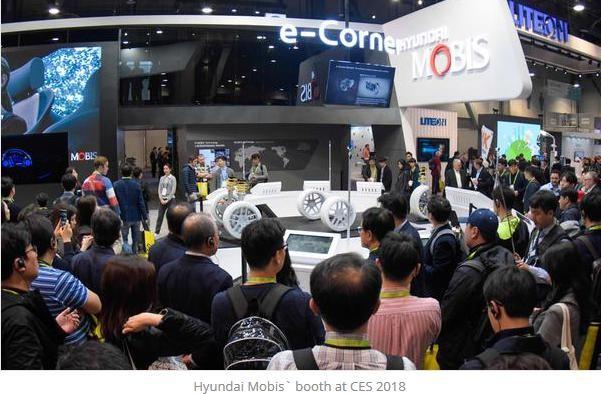 现代摩比斯在CES展上发布自动泊车技术