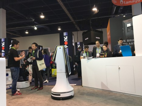 SLAMTEC—思岚科技首次亮相CES赋予机器人自主定位导航方案