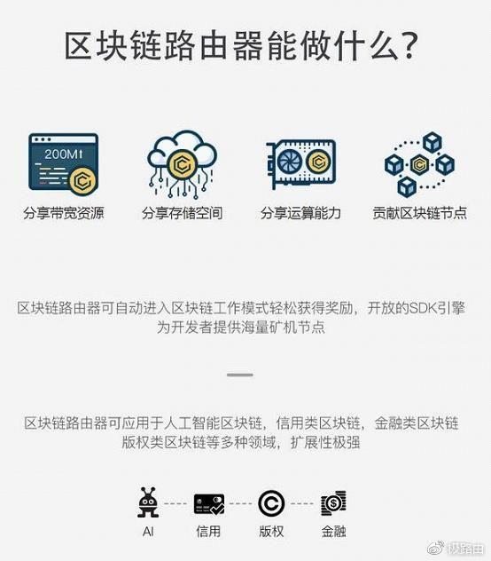 极X路由器区块链详解:为啥没有自己的代币?