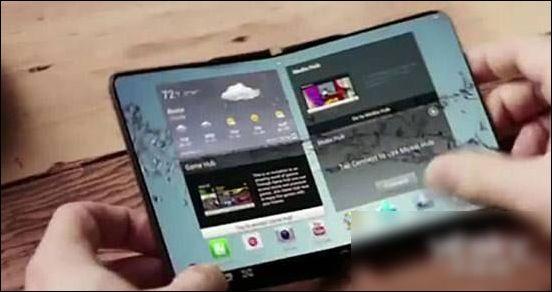 三星CES展会秘密展出可折叠手机:今年年底或将亮相