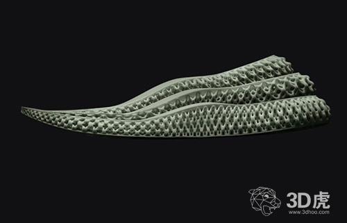 阿迪达斯的3D打印Futurecraft 4D跑鞋将于18日在纽约发售!