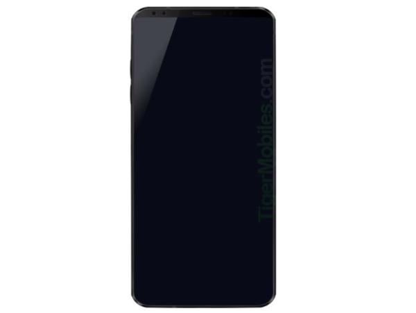 LG G7渲染图流出:上额放置双摄、听筒和传感器