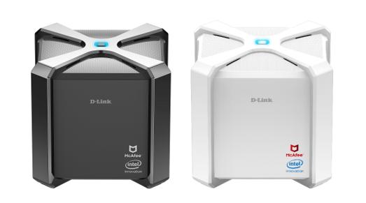 CES 2018:D-Link路由器携手McAfee 为家用连网装置提供全面保护