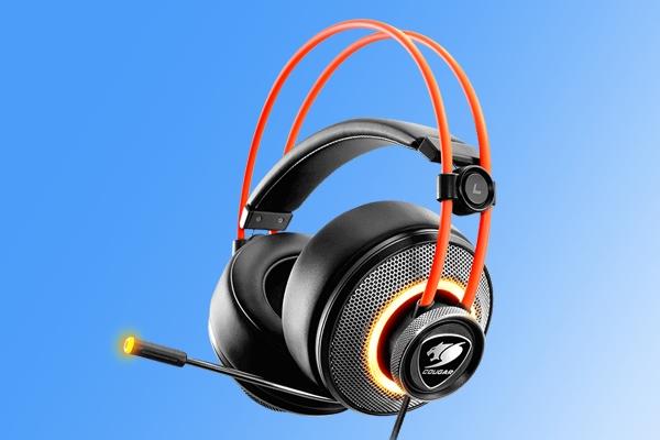 7.1虚拟环绕声道!骨伽高性价比电竞耳机发布:自带LED灯